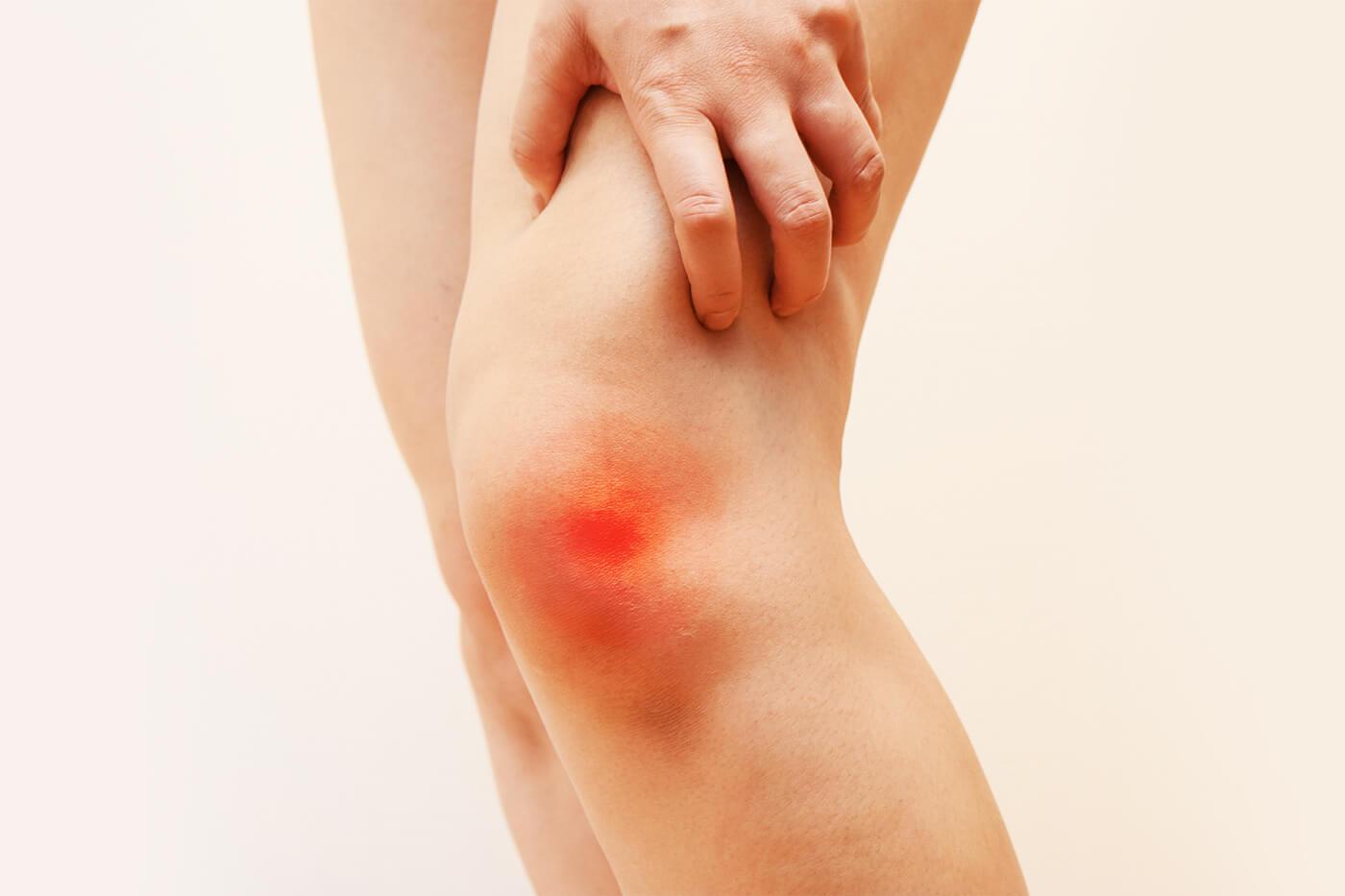 Dolore al ginocchio nella parte anteriore